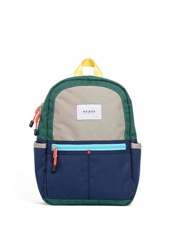 For each backpack sold, a STATE bag packed with essential tools for success is delivered to an American child in need.