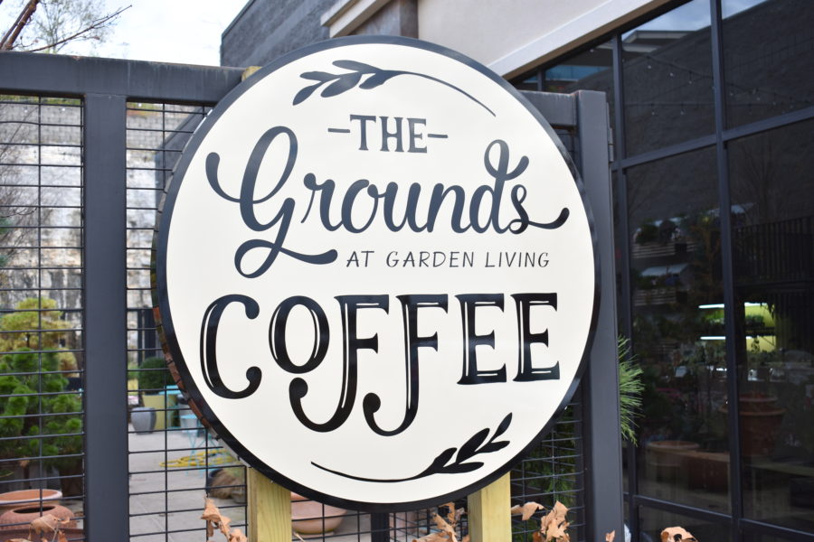 Tucked away between a flower shop and a garden shop is Fayetteville's newest urban oasis--The Grounds at Garden Living.