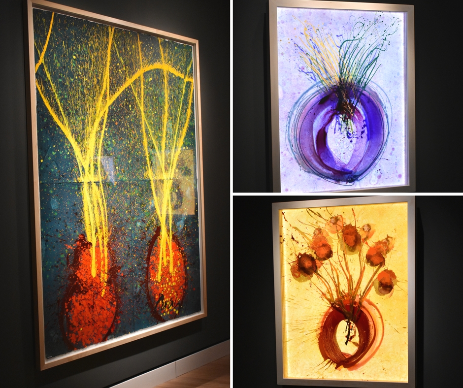 Chihuly in the Gallery at Crystal Bridges May 27 to June 2