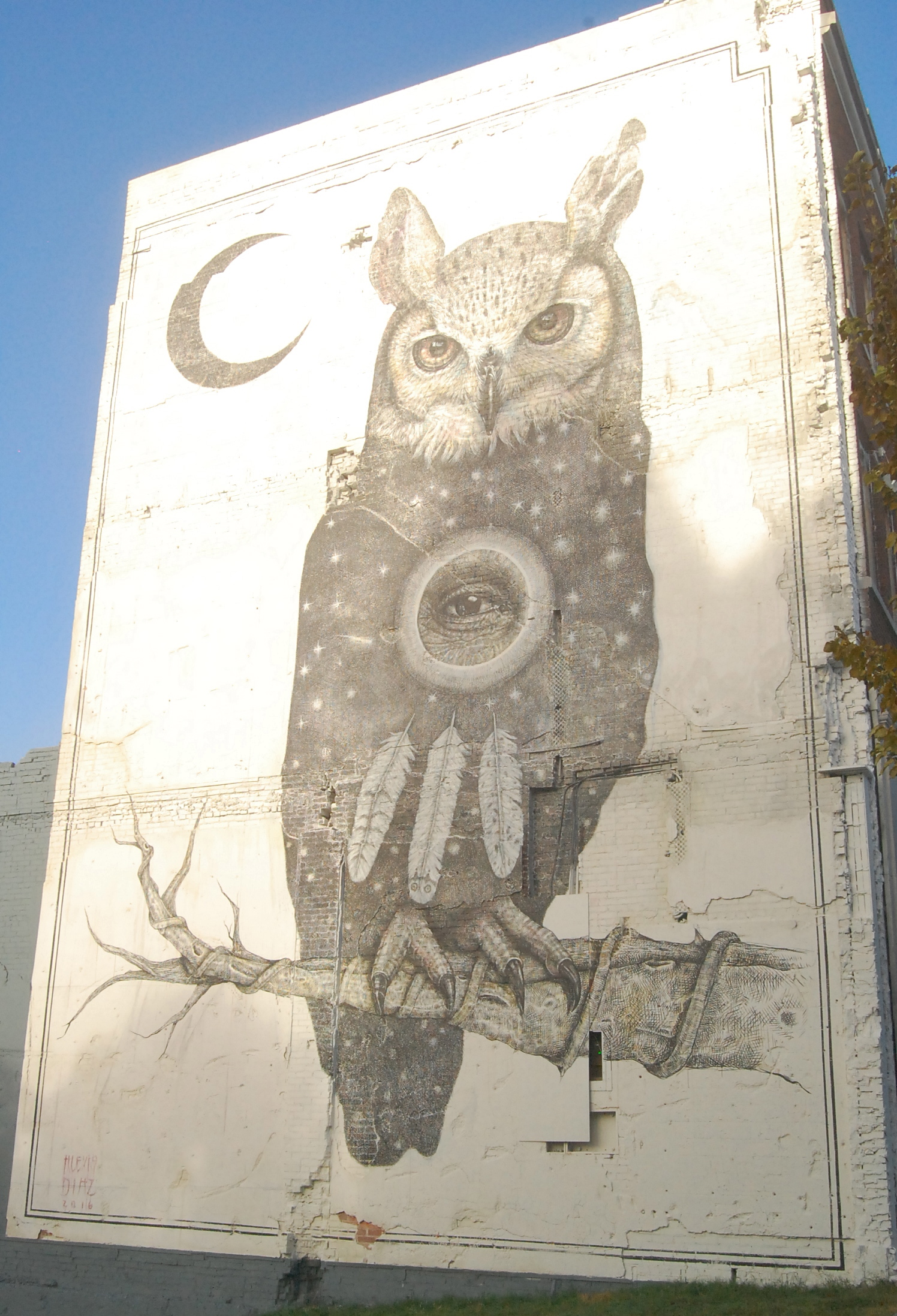 The Unexpected mural in Fayetteville