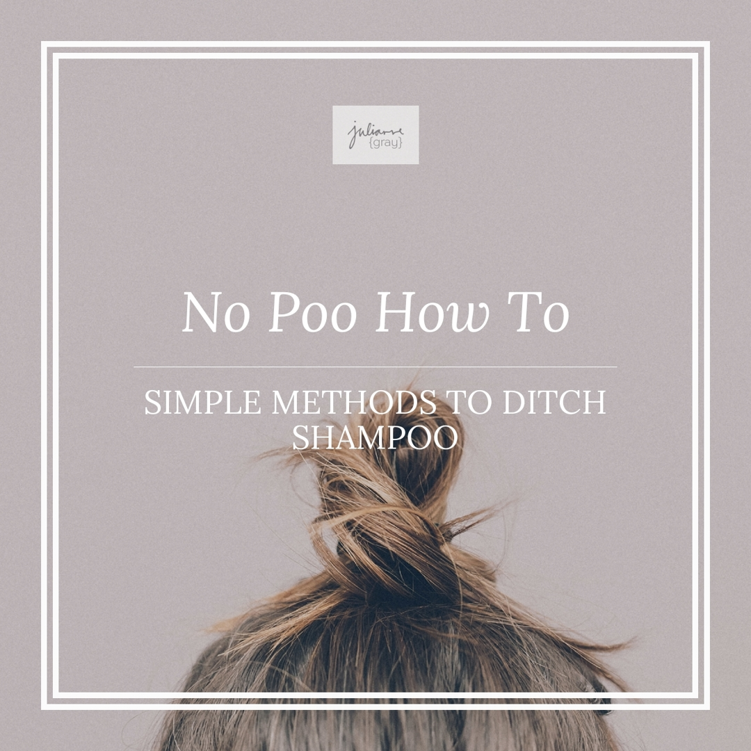 Try these easy, no fuss, no poo methods today using items already found in your home!