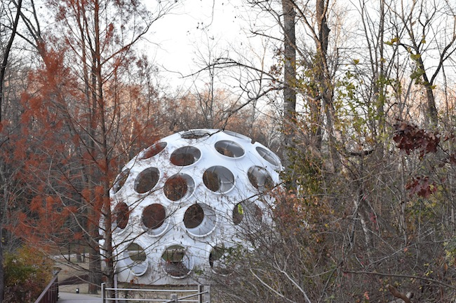Fly's Eye Dome on view at Crystal Bridges